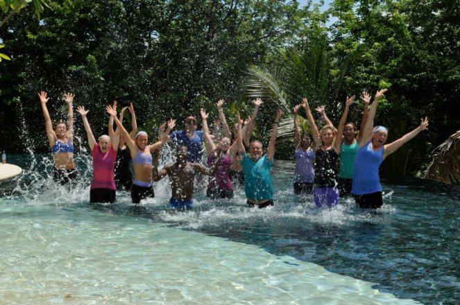 splashing in the pool CR